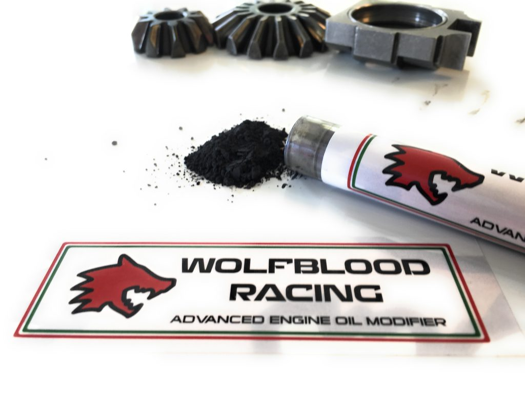 wolfblood racing engine oil modifier application as an additive