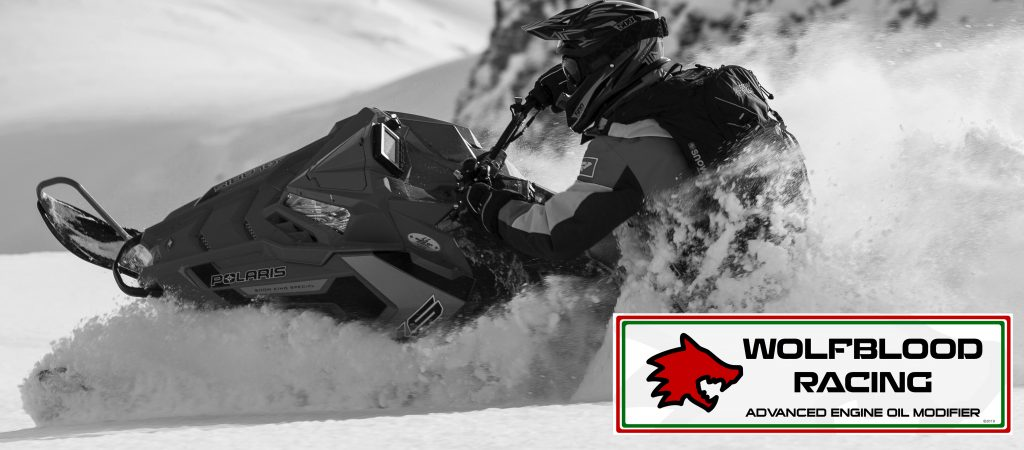 wolfblood racing advanced engine oil modifier additive grease lubricant motor snowmobile motorbike car