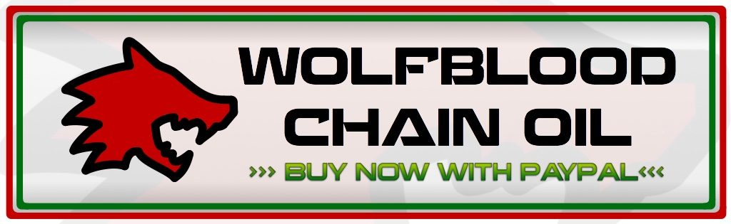 Buy now with paypal button for Wolfblood Racing low friction chain oil
